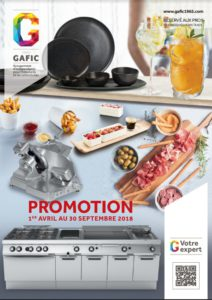 Catalogue GAFIC promotion avril 2018