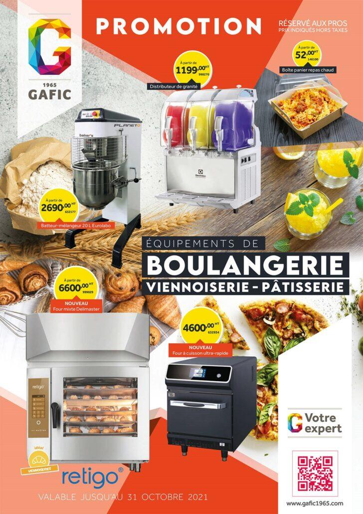 Promotion boulangerie 2021